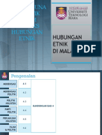 CTU555 Sejarah Malaysia - Pembangunan Politik Dalam Konteks Hubungan Etnik
