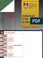 CTU555 Sejarah Malaysia - Pembangunan Ekonomi Dalam Konteks Hubungan Etnik