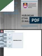 CTU555 Sejarah Malaysia - Hubungan Etnik Ke Arah Masyarakat Berintegrasi