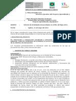 Informe Mes de Mayo 2013