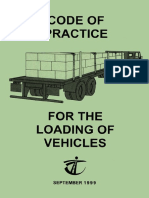 TD, CoP for the Loading of Vehicles, 1999