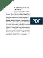Constitución San Juan