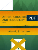 CHEM 111 UNIT 02 - Atomic Structure & Periodicity