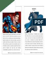 Fichas Dos Herois 1