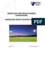 Cricket Oval aricket Oval And Practice Wicket Floodlightingd Practice Wicket Floodlighting