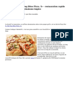 Pizza Hut « Hot Dog Bites Pizza. » - restauration rapide freakshow ! 7 combinaisons impies