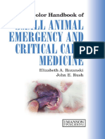 A Colour Handbook of Small Animal Emergency and Critical Care Medicine