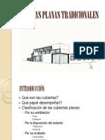 cubiertas planas tradicionales  pw