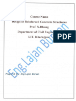 Design of Reinforced Concrete Course-Part Four-Handbook-All Lectures, By