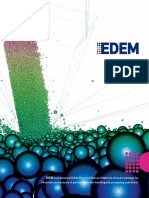 EDEM is an advanced DEM (Discrete Element Method) software package for simulation and analysis of particulate solids handling and processing operations