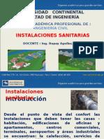 1. INSTALACIONES SANITARIAS