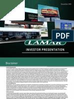 LAMR NAREIT Investor Presentation 201411