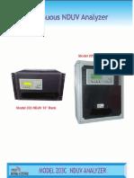 Model 203 UV to NIR Absorbance Analyzer