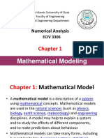 Ch1 Mathematical Modeling
