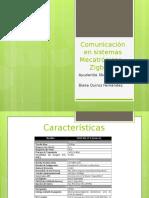 Comunicación en Sistemas Mecatrónicos – Zigbee