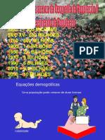 População crescimento