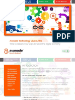 AvanadeTechnologyVision2016 Full eBook FINAL