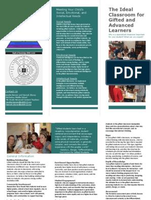 j benson h zboray ideal classroom brochure   Intellectual