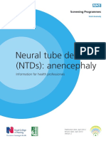 Neural Tube Defects - Anencephaly - HP - FASP76