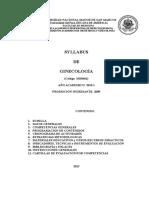 Syllabus de Ginecologia 2015 EAPMH