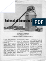 The Butterley Company Automated Concrete Batching