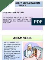 Anamnes is y Ex Amen Fisico