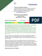 Project Status Report (1)