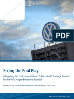 Fixing the Foul Play