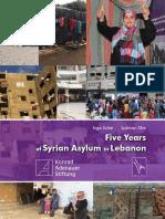 Five Years of Syrian Asylum in Lebanon