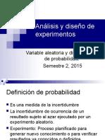 Análisis y Distribuciones v.a e I.C.