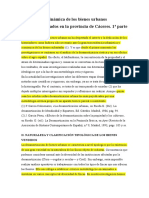 Naturaleza y Dinámica de Los Bienes Urbanos Desamortizados en La Provincia de Cáceres