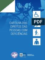 Cartilha dos direitos das pessoas com deficiência
