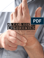 A Lean Look at Ergonomics
