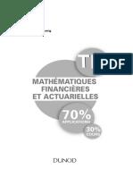 Mathématiques financiéres et acturielles