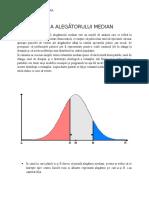 Teoria Alegătorului Median