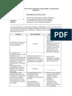 Informe de Plan Lector 2014