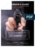 2nd Edition - The Gun Owners Guide to Insurance for Concealed Carry Self-Defense