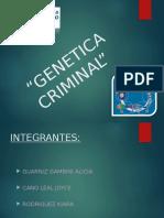 Genetica Criminal Diapo