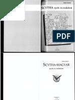 Scytha-magyar nyelv és irodalom