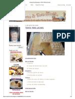 Recetas de Doña Martha_ Torta Tres Leches