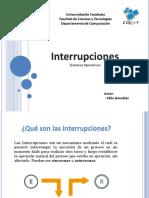 FelixGonzalez-Presentacion-Interrupciones