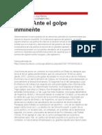 Jorge Altamira - Brasil - Ante El Golpe Inminente