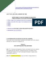 Est LEI 1.614-1990 - Quadro Do Magistério Publico Estadual