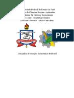 Questões de Formação Economica Do Brasil