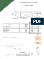 Proiect Metal III Calcul cadru transversal