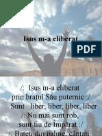 Isus M-A Eliberat