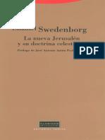 Swedenborg Emanuel - La Nueva Jerusalen Y Su Doctrina Celestial