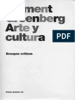Greenberg, Clement -Arte y Cultura