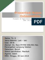 Presentasi Kasus Osteomielitis
