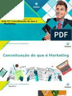 Aula 01 - Administraçao de Marketing
